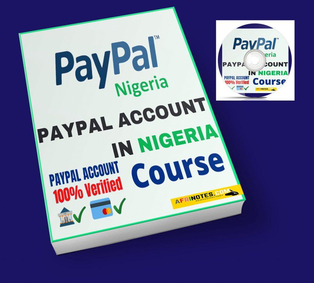 PayPal account in Nigeria Course, ebook