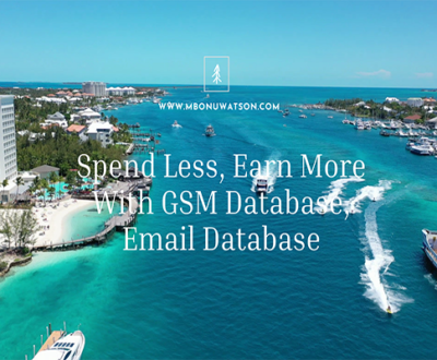 Spend Less, Earn More With GSM Database, Email Database